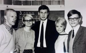 Första styrelsen 1966
