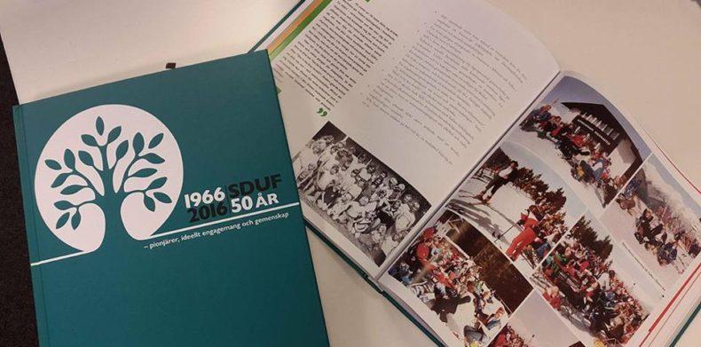 SDUF säljer 50-årsjubileumsbok på plats 13 februari i VV fhs!